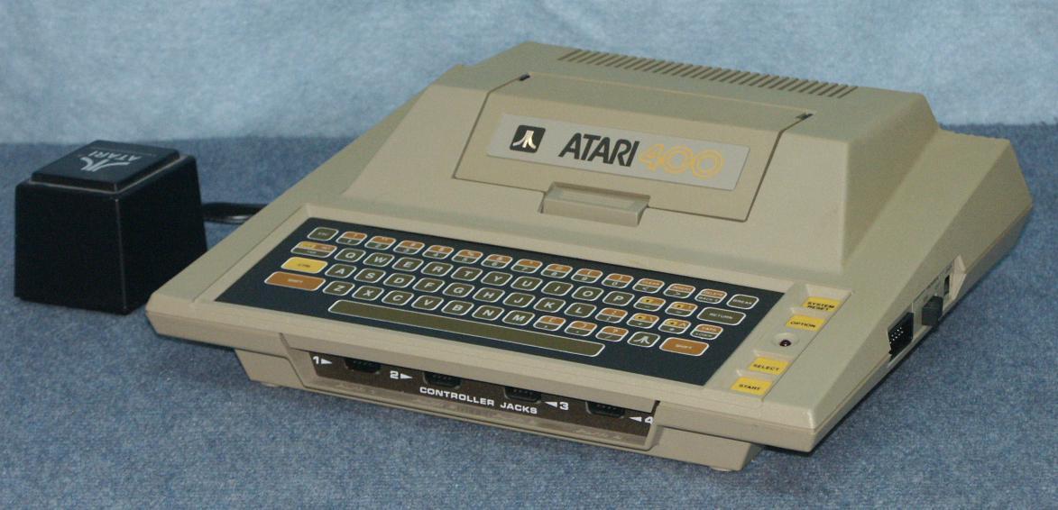 Daves old computers atari 8 bit - Original atari game console ...