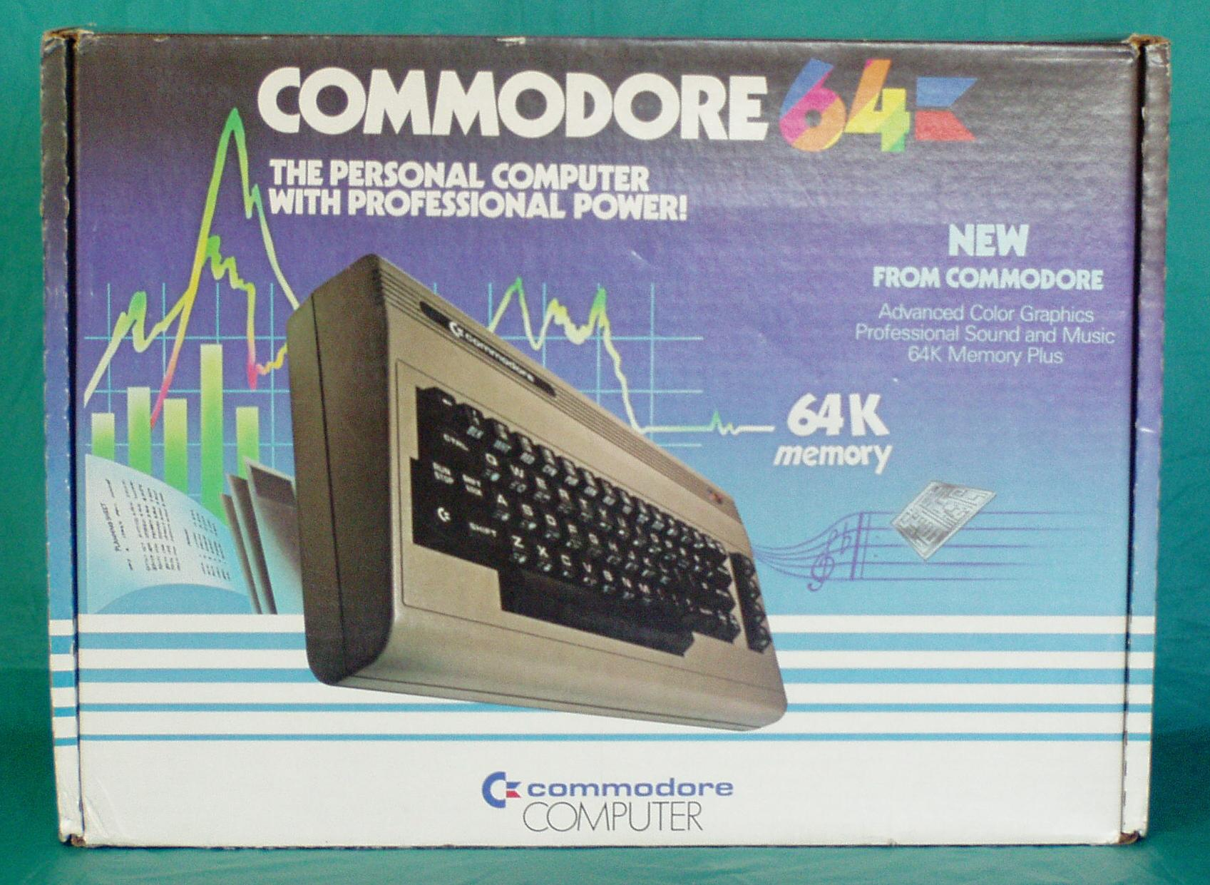 DAVES OLD COMPUTERS - Commodore 64