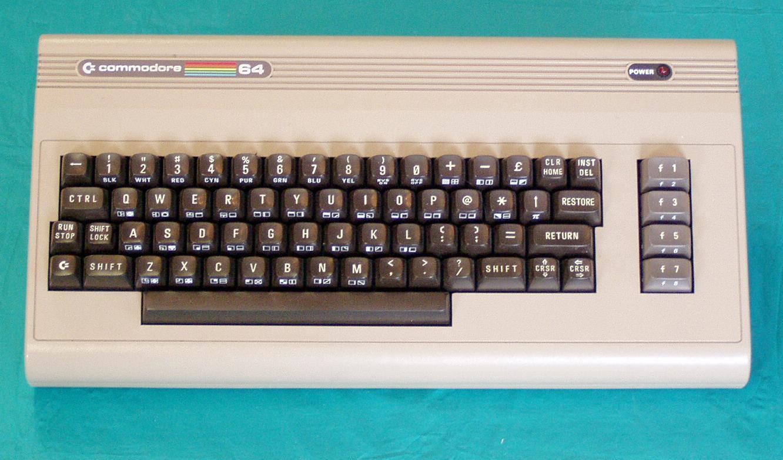 Commodore 64 keyboard layout