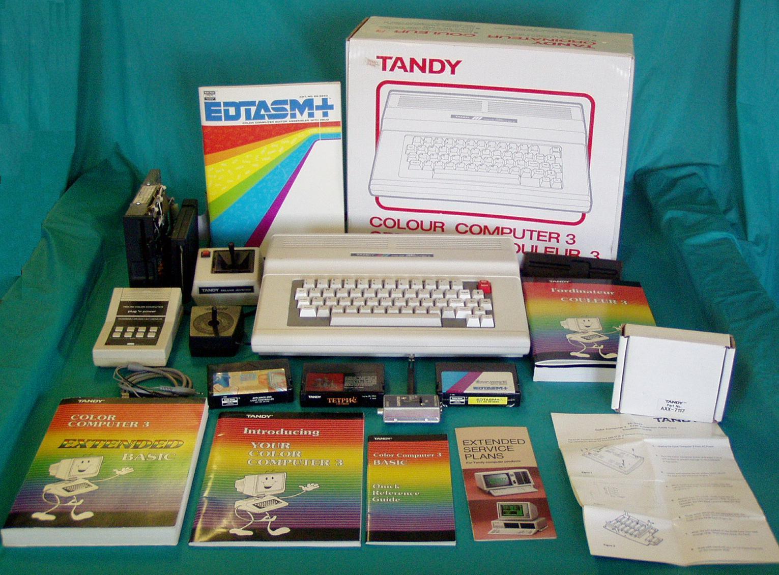 daves old computers radioshack tandy color computer dragon