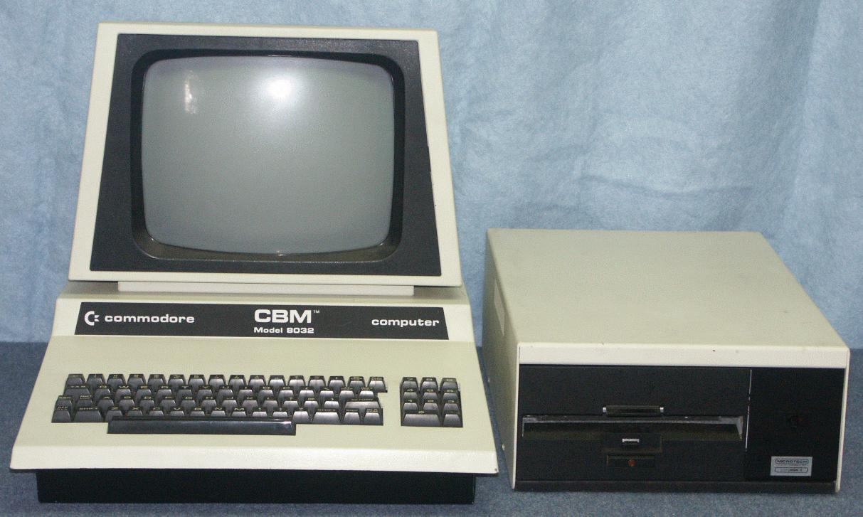 DAVES OLD COMPUTERS - Commodore PET