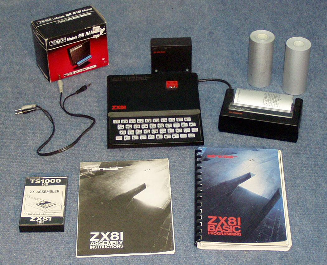 Daves Old Computers Sinclair Zx80 81 Timex 1000