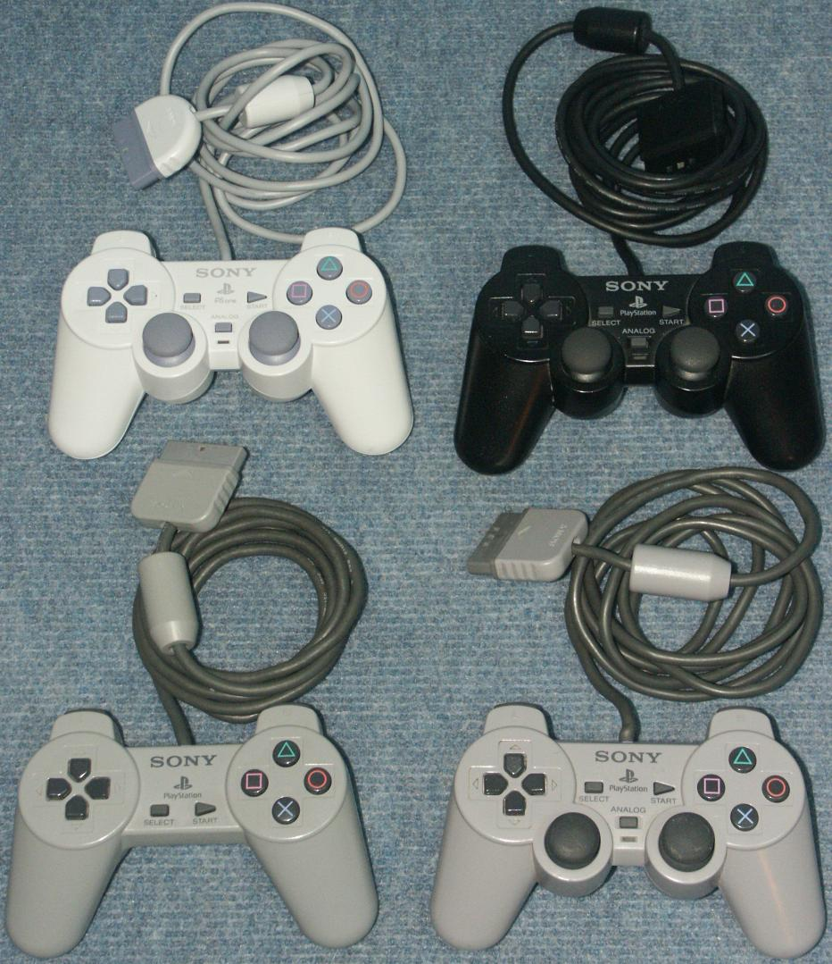 Daves Old Computers Sony Playstation 2 Controller Ps2