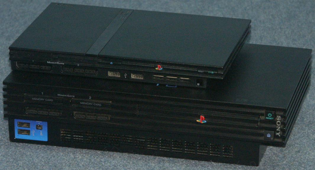 DAVES OLD COMPUTERS- Sony Ps2 Console Back